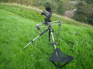Walkstool camera rigg