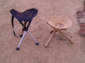 Walkstool in Uganda
